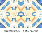 mosaic seamless colorful... | Shutterstock . vector #545276092