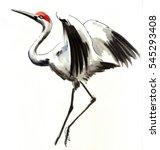 crane sketch   Shutterstock . vector #545293408