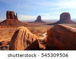 monument valley | Shutterstock . vector #545309506