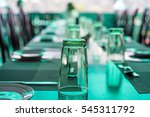 served tables at cafe | Shutterstock . vector #545311792