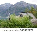 eidfjord in norway | Shutterstock . vector #545319772