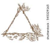 Triangular Frame Made Of...