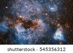 a maelstrom of glowing gas and... | Shutterstock . vector #545356312