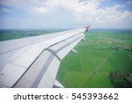 Small photo of Plane Wing, A fixed-wing aircraft is an aircraft, such as an aeroplane, which is capable of flight using wings that generate lift caused by the vehicle's forward airspeed.