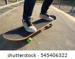 people legs practice...   Shutterstock . vector #545406322