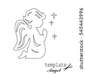 Template Angel For Cut Of Lase...
