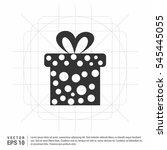 gift icon   | Shutterstock .eps vector #545445055
