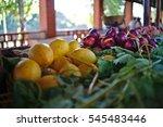 Open Air Market Fruit Stand...