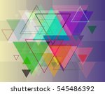background and adornment with... | Shutterstock .eps vector #545486392