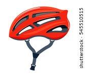 bicycle helmet illustration. | Shutterstock . vector #545510515