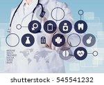 doctor. | Shutterstock . vector #545541232