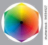 colour circle | Shutterstock .eps vector #54554527