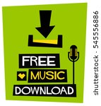 free music download  flat style ...