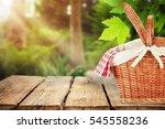 picnic. | Shutterstock . vector #545558236