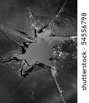 glass  cracks   splinters | Shutterstock . vector #54556798