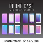 set of covers and backgrounds... | Shutterstock .eps vector #545572708