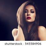 Beautiful Makeup Glamour Femal...