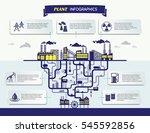 plant infographics vector... | Shutterstock .eps vector #545592856