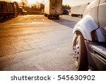 truck  wheel  | Shutterstock . vector #545630902