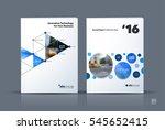business vector. brochure... | Shutterstock .eps vector #545652415