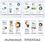 abstract business vector set of ...   Shutterstock .eps vector #545655262