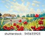 Oil  Road  Fine Art  Ukrainian...
