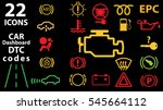22 icon vector collection of... | Shutterstock .eps vector #545664112