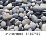 Smooth Beach Stones Background