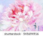 pink and white peony background.... | Shutterstock . vector #545694916