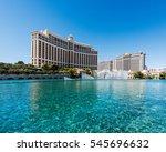 las vegas  nevada  usa  ... | Shutterstock . vector #545696632