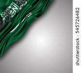 vector illustration of saudi... | Shutterstock .eps vector #545726482