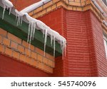 Many Icicles Hanging On The...