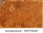 Old worn leather background - stock photo