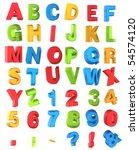 Multicolor Alphabet
