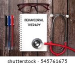 behavioral therapy | Shutterstock . vector #545761675