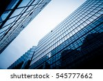 low angle view of skyscrapers... | Shutterstock . vector #545777662
