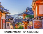Bukchon Hanok Village In Seoul...