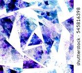 seamless pattern of watercolor... | Shutterstock . vector #545816398