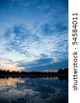 beautiful sunrise landscape...   Shutterstock . vector #54584011