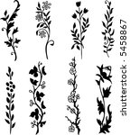 ornamental design elements  ... | Shutterstock .eps vector #5458867