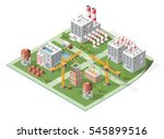 set of isolated high quality... | Shutterstock .eps vector #545899516