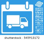 delivery car calendar day...   Shutterstock . vector #545913172