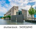 vaduz  liechtenstein  july 25 ... | Shutterstock . vector #545926945