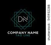 dn logo | Shutterstock .eps vector #545932288