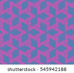 geometric shape abstract vector ... | Shutterstock .eps vector #545942188