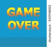 8 Bit Pixel Game Over Message....