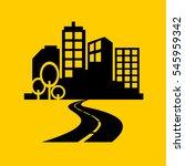 city icons vector. | Shutterstock .eps vector #545959342