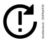 Sync Error Vector Icon