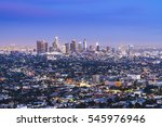 Scenic View Of Los Angeles...