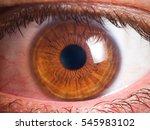 human eye detail | Shutterstock . vector #545983102